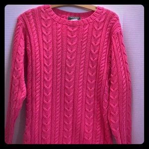 RALPH LAUREN COUNTRY NEW NWT Cotton Cable Small